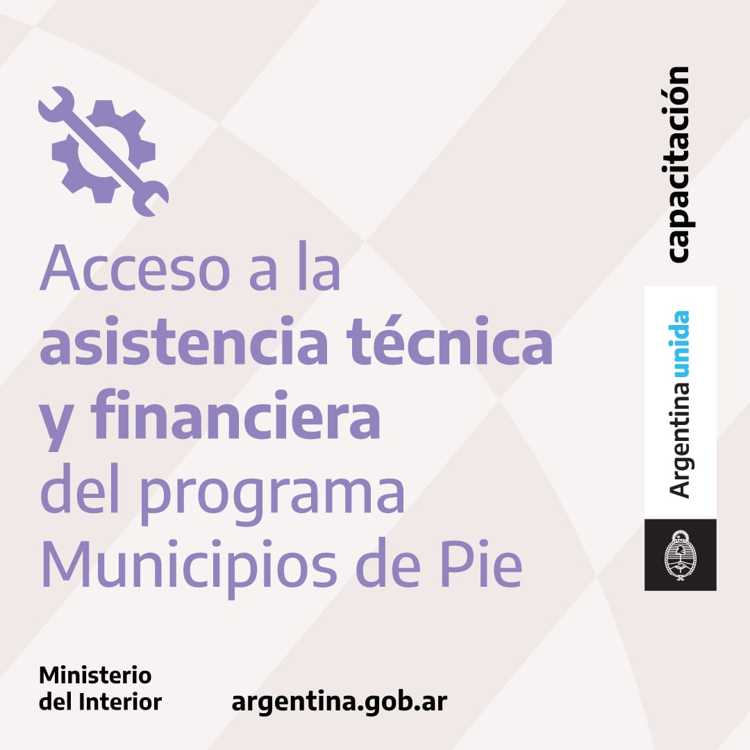 Municipios de Pie
